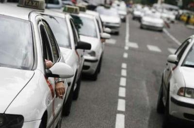 Taxis en la ciudad de Valencia