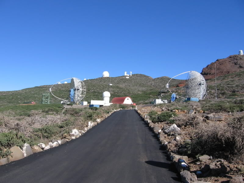 Telescopios del Roque de Los Muchachos