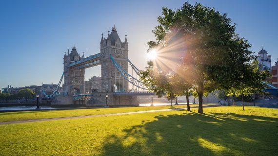 Temperatura media de Londres en verano