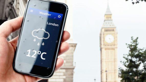 Temperatura media en Londres