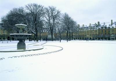 temperatura París invierno