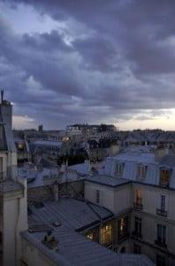 temperatura París nublado