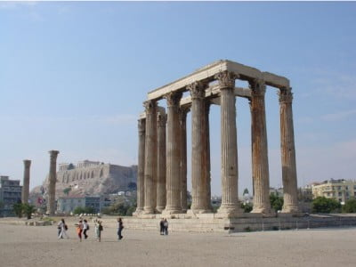 Templo de Zeus Olímpico – Atenas