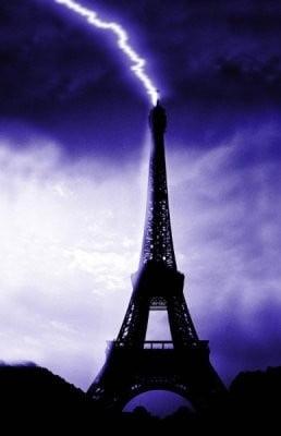 tempreratura París tormenta