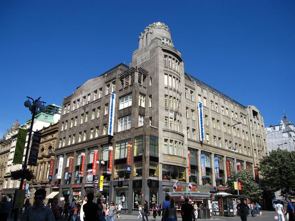 Tiendas de Praga