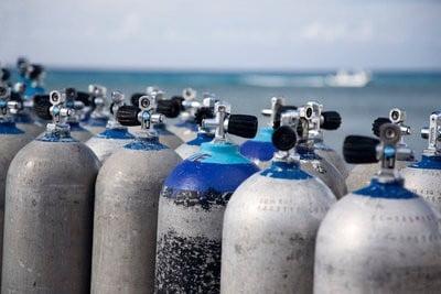 Tiendas de submarinismo online oxigeno