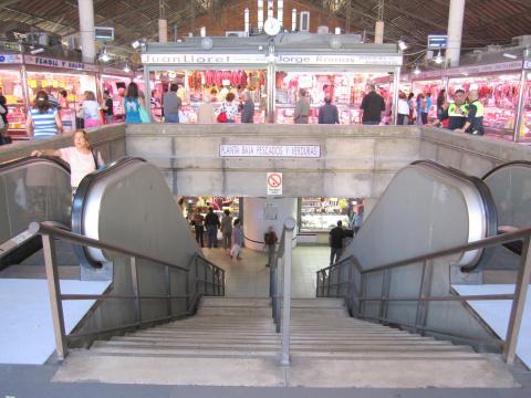 Tiendas del Mercado de Alicante