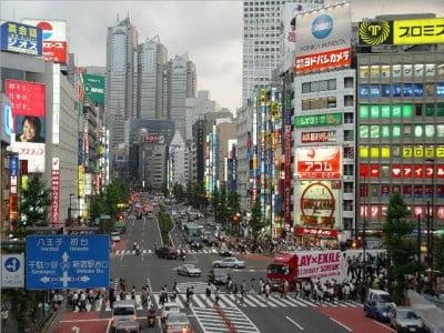 Tokio en Japon