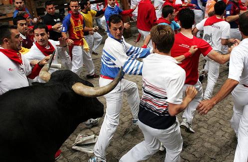 Toros en San Fermín