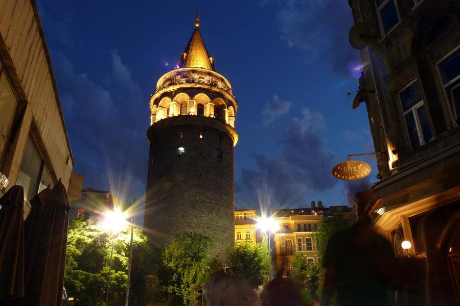 Torre Galata en Turquía