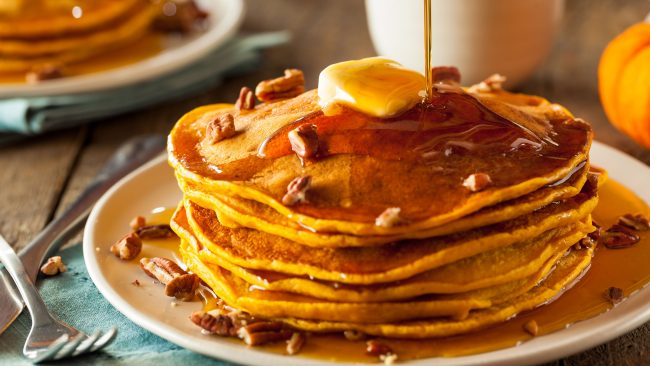 Tortitas con jarabe de arce: un dulce de Canadá