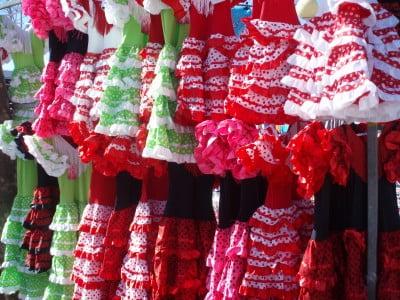 Trajes de flamenca en Sevilla