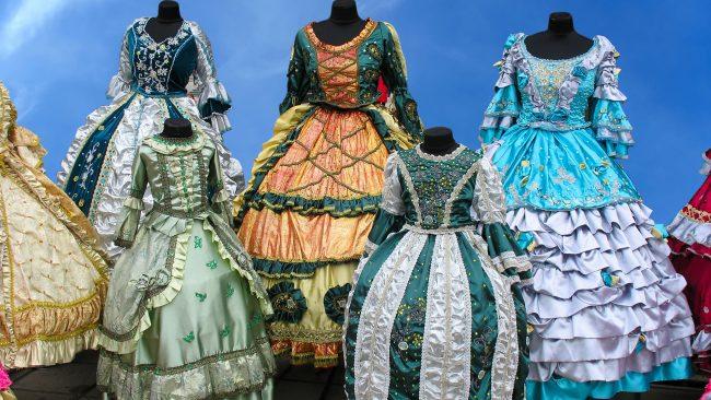 Trajes europeos antiguos: época del Renacimiento en Italia