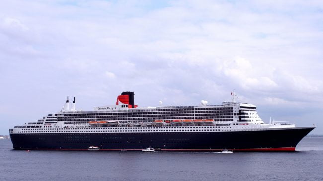Transatlántico Queen Mary 2