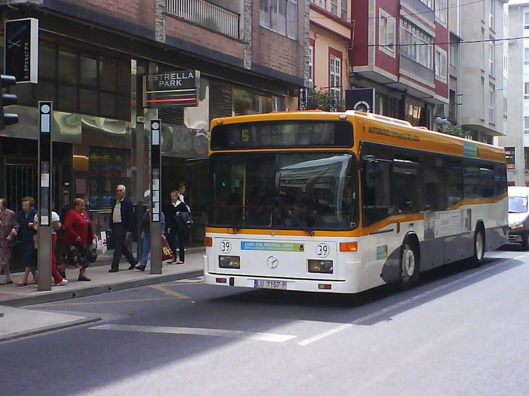 Transporte público, Lugo