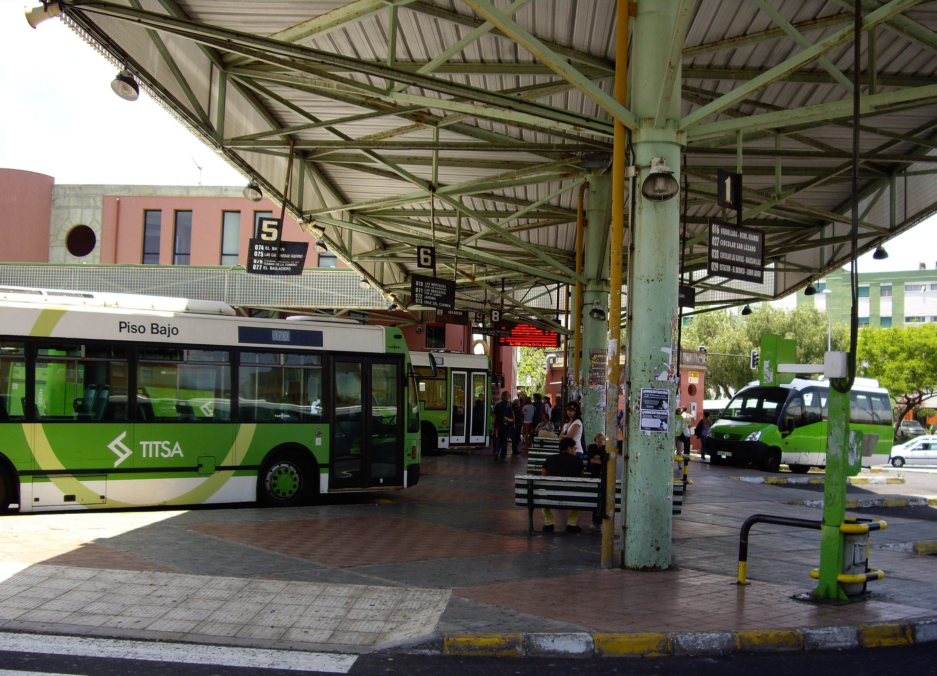 Transporte público, Tenerife
