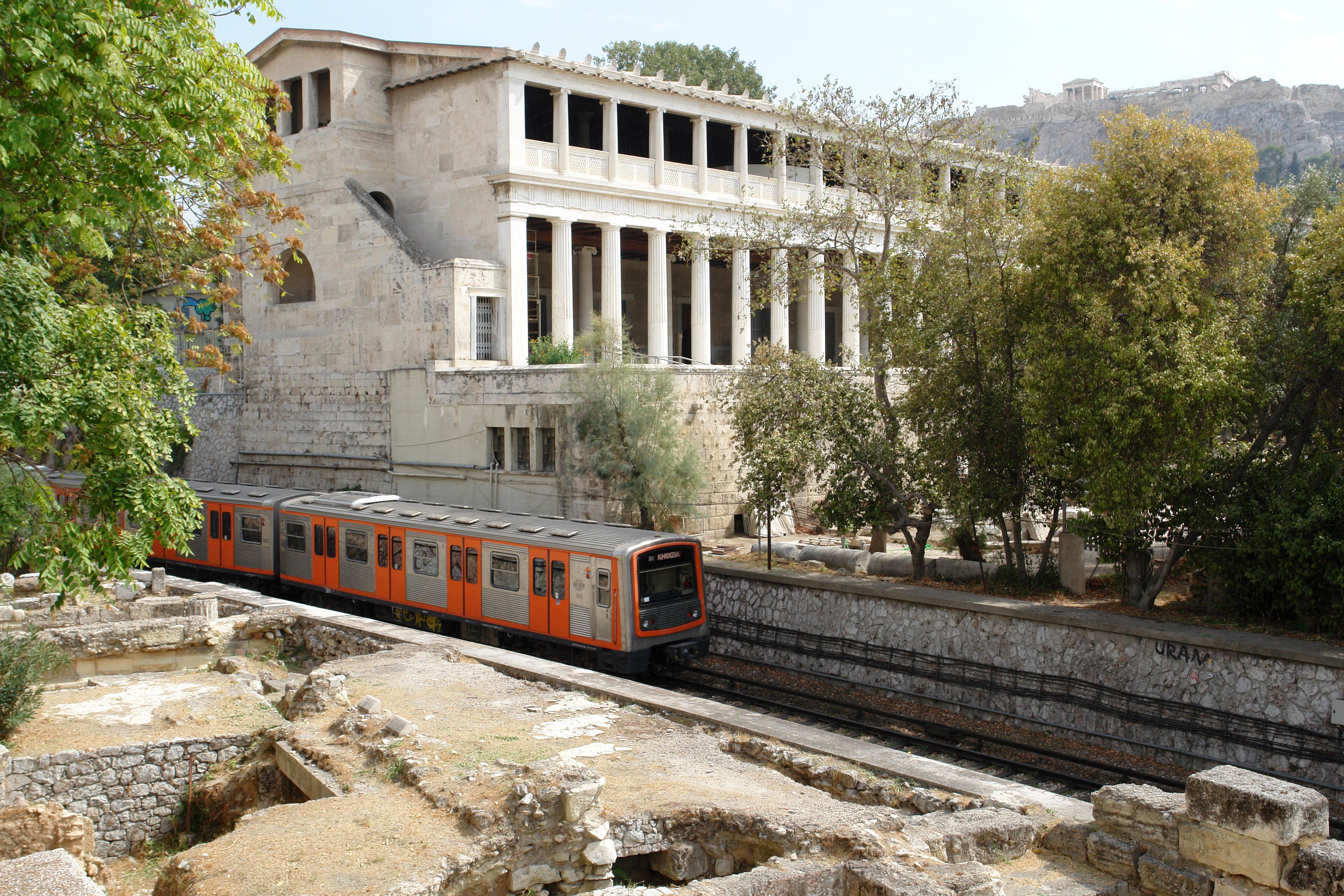 Transporte urbano Atenas