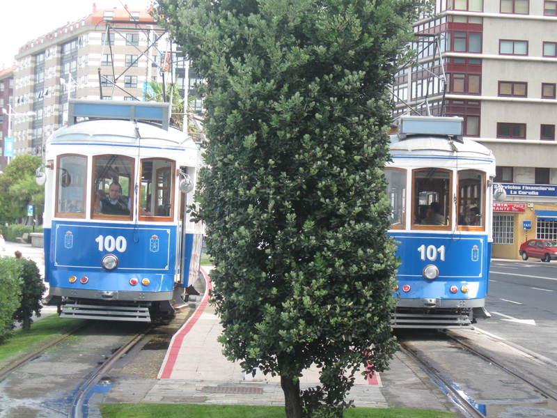 Tranvía, A Coruña