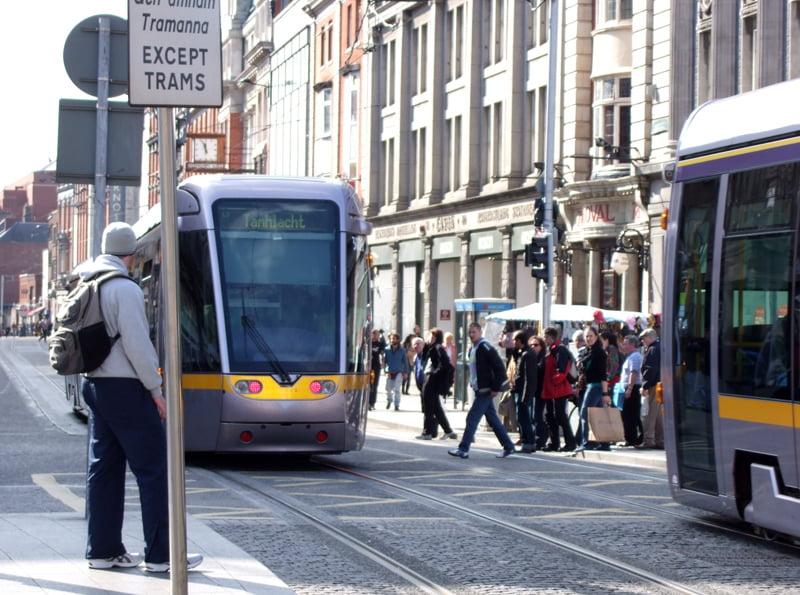 Tranvia de Dublín