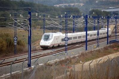 Tren a Pamplona