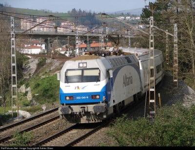 Tren a San Sebastián