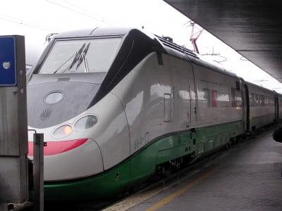 Tren a Venecia