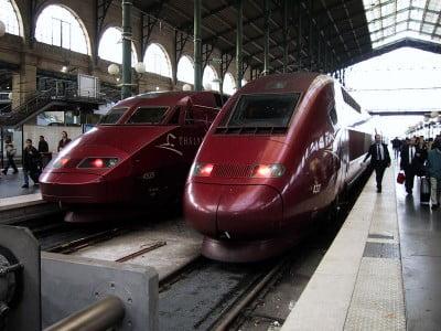 Tren de Bruselas