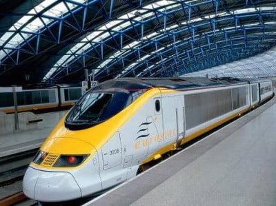 Tren Euroestar