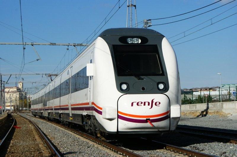 Tren a Navarra