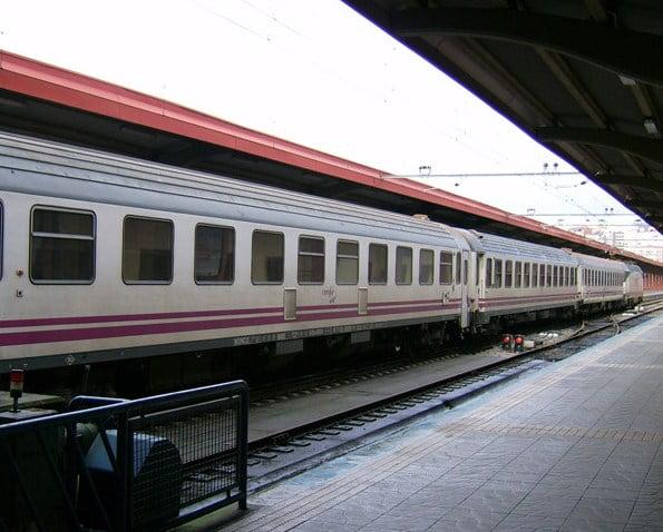 Trenes a Galicia