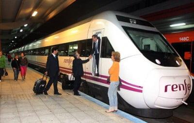 Trenes a Vigo