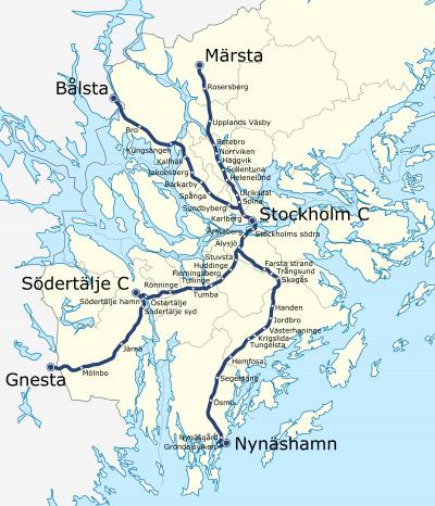 Trenes de Estocolmo