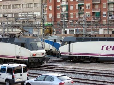 Trenes en Bilbao