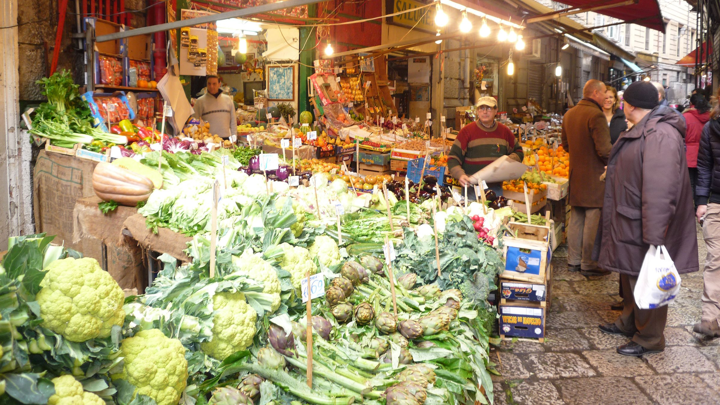 Mercado de la Vucciria en Palermo