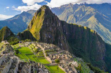 Machu Picchu: antiguo poblado andino de Perú
