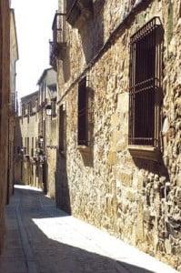 tTurismo rural en Extremadura calles