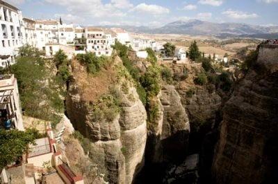 Turismo rural en Málaga paisaje en ronda