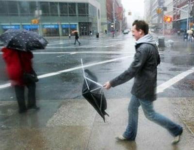 Usa paraguas en Melbourne