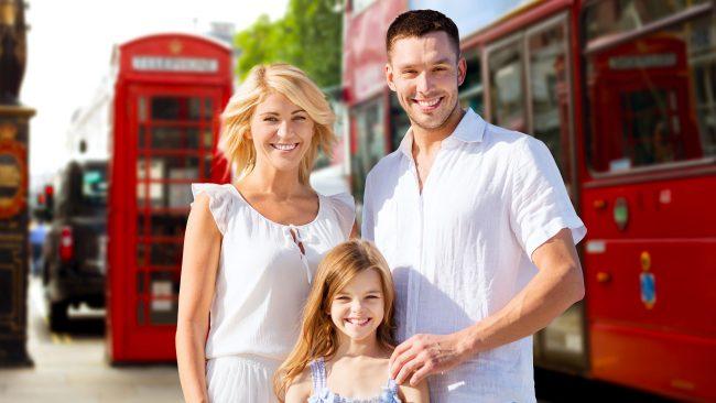 Utilizar el transporte público de Londres con niños