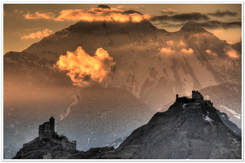Fotos de los castillos de sion