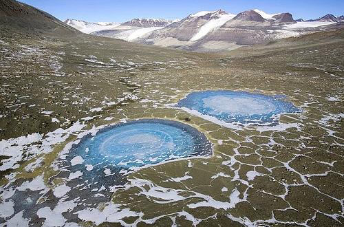 Valle seco de la Antarctica