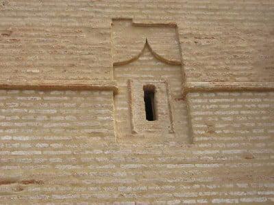 Ventana estilo árabe
