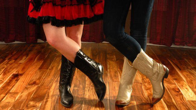 Vestimenta típica de los bailarines de country
