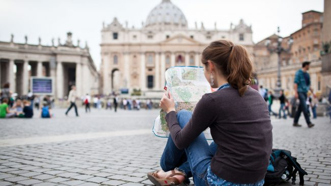 Als Rucksacktourist nach Rom reisen: eine kostengünstige Option
