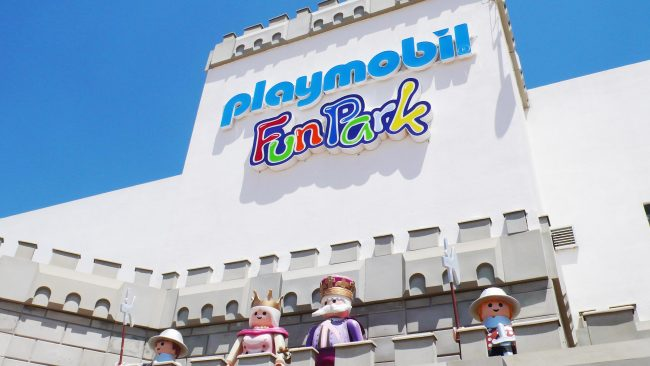 Traveling with children to Malta: visit to Playmobil Fun Park