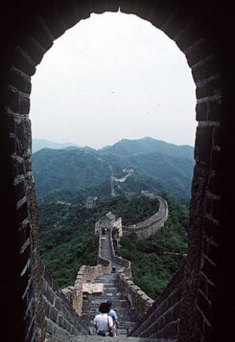 El viaje a traves de la muralla