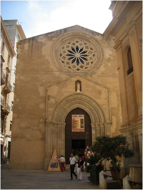 Iglesia de San Agustín en Trapani