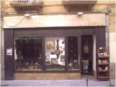 Librería de la Vía Garibaldi de Trapani