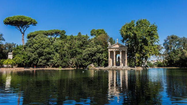 Villa Borghese: eine Ecke Roms mit frischer Luft