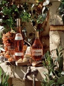 vino rosado viñedo